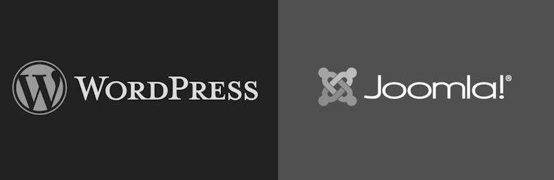 Wordpress and Joomla CMS